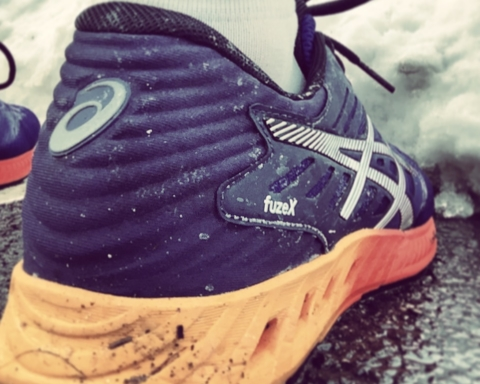 ASICS FuzeX neutral shoe